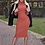 Thumbnail: Nicola Sophisticated Polo Neck Midi Dress