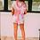 Thumbnail: Norma Tie Dye Drawstring Lounge Top Shorts Set