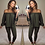 Thumbnail: Shauna Two Peice Top Pants Suit