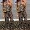 Thumbnail: Nora Leopard Print Ruffle Palazzo  Jumpsuit