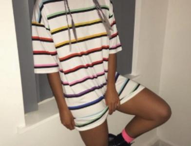 Bobbie Oversized T-Shirt Dress