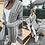 Thumbnail: Alexis Lilac Braided Longline Cardigan