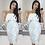 Thumbnail: Francesca Bandeau Frill Waterfall Midi Dress