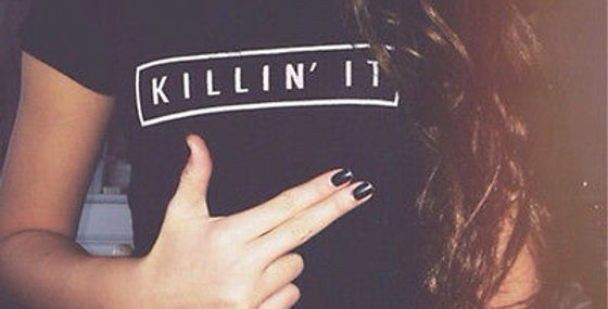 'Killin It' Slogan Tee