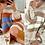 Thumbnail: Addy Bombfire Thick Knitted Jumper Dress -  Orange