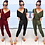 Thumbnail: Ronnie Belted V Neck Lounge Day Jumpsuit