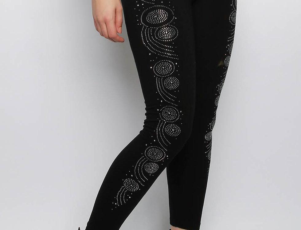Embellished Double Jersey Leggings