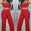 Thumbnail: Natasha Crop Top Palazzo Pants Set