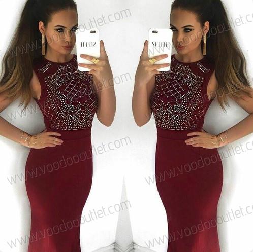 Hourglass shape maxi dress