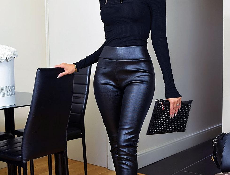 Chelsea Wet Look Trousers