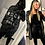 Thumbnail: Rock &; Roll Dark Camo Sequin Trench Jacket