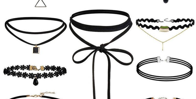 10pc Choker Necklace Set