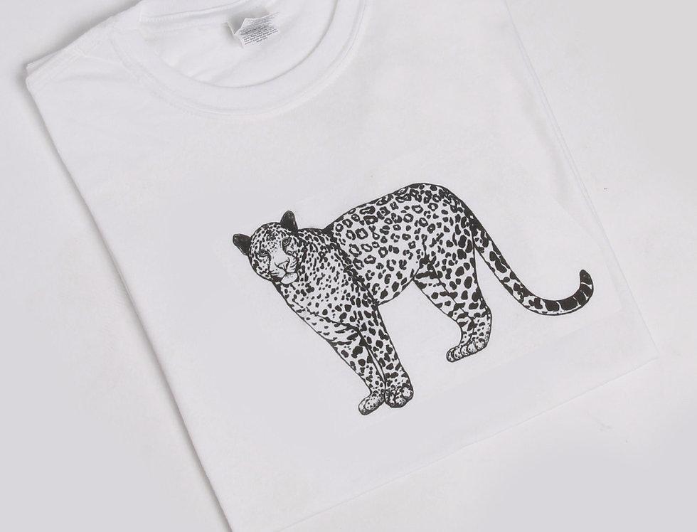 Jenni Leopard Casual T-shirt