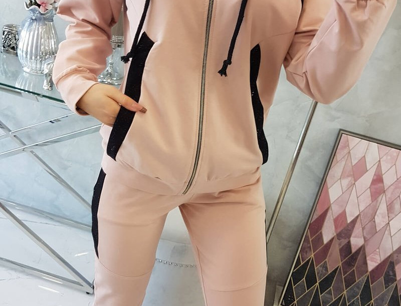 Danielle Contrasted Tracksuit Set