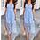 Thumbnail: Macy Baby Blue Crochet Midi Dress