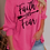 Thumbnail: Faith Over Fear Slogan Sweatshirt