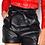 Thumbnail: PU Belted Paper Bag Shorts