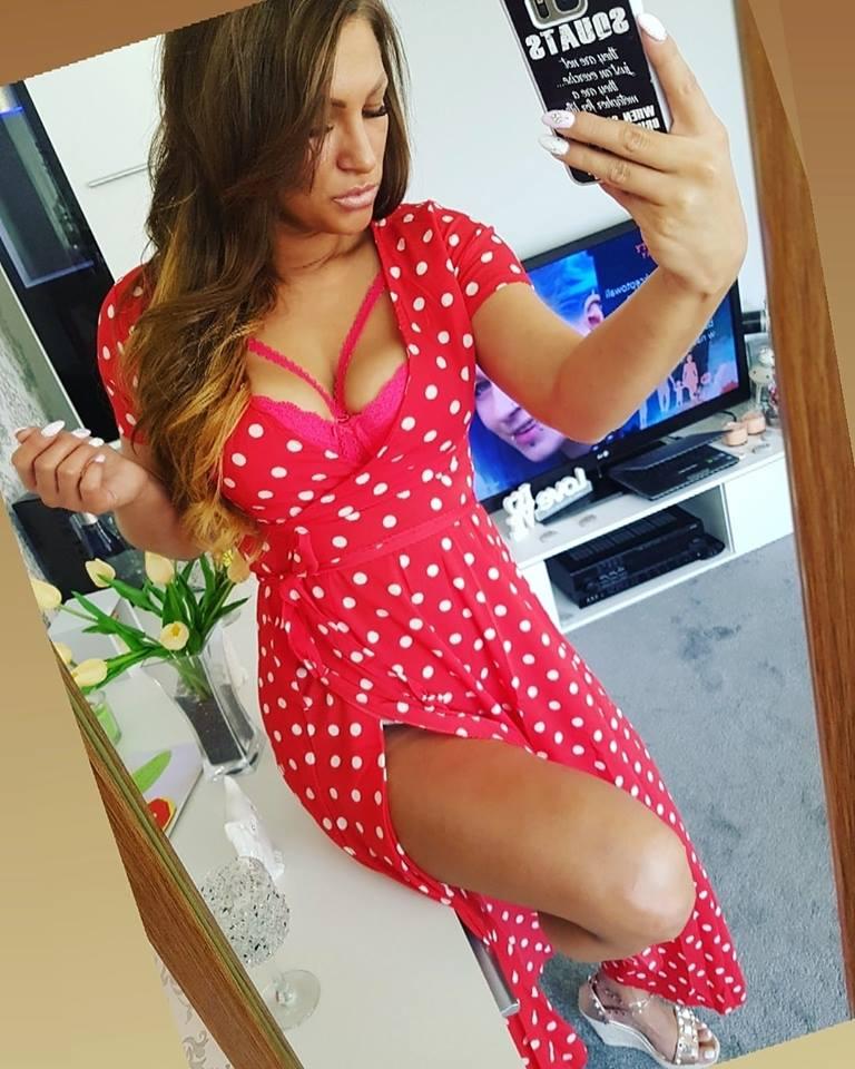 marlena customer selfie