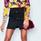 Thumbnail: Savannah Silk Floral Wrap Bodysuit Blouse