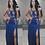 Thumbnail: Mandy Rose Embroidered Slit Leg Maxi Dress