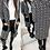 Thumbnail: Roseanna Geometric Hooded Pocketed Cardigan