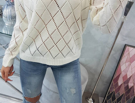 Jane Diamond Knitted Sweater