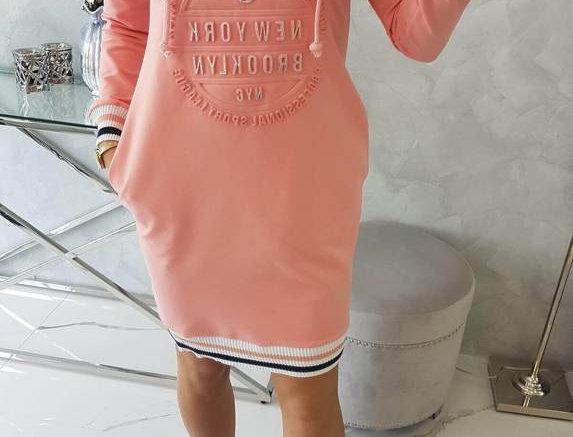 Trish Brooklyn Hoodie Dress