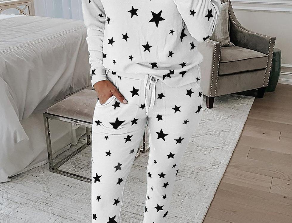 Milly Star Print PJ Set
