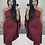 Thumbnail: Regina One Shoulder Cape Bodycon Dress