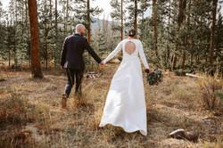 Backyard Wedding Ceremony Colorado