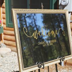 wedding signs colorado