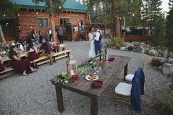 Riversong Reunion Lodge Wedding