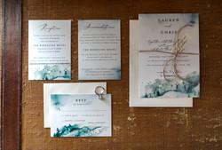 Wedding invite The Stanley Hotel