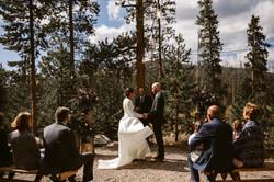 Backyard wedding venue Colorado