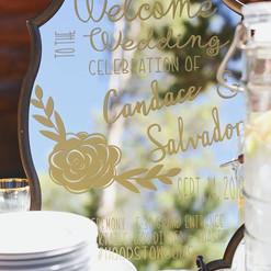 Custom Wedding Signs