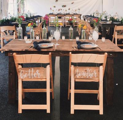 Denver Wedding Decor Rentals
