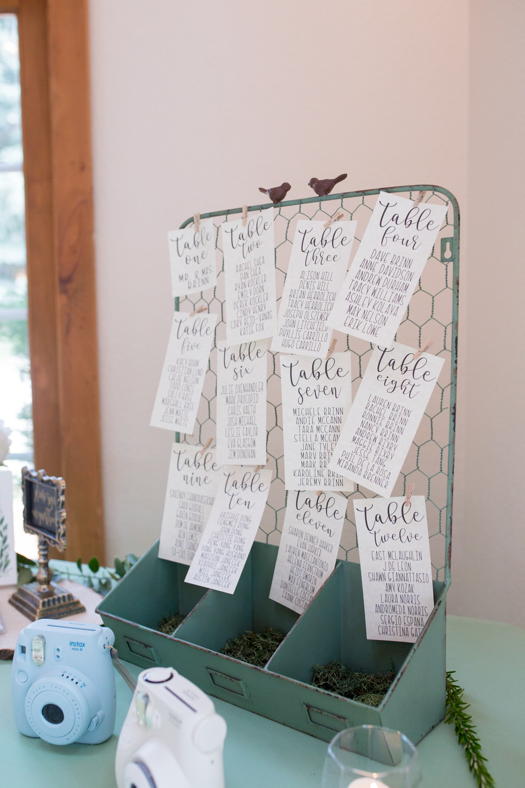 Custom Table Assignments