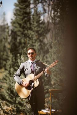 backyard wedding in Grand Lake Colorado