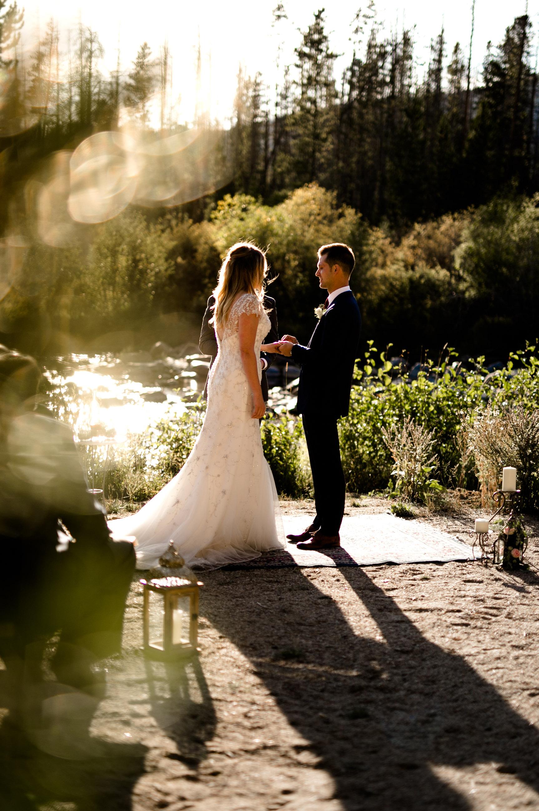 Grand Lake Colorado Wedding