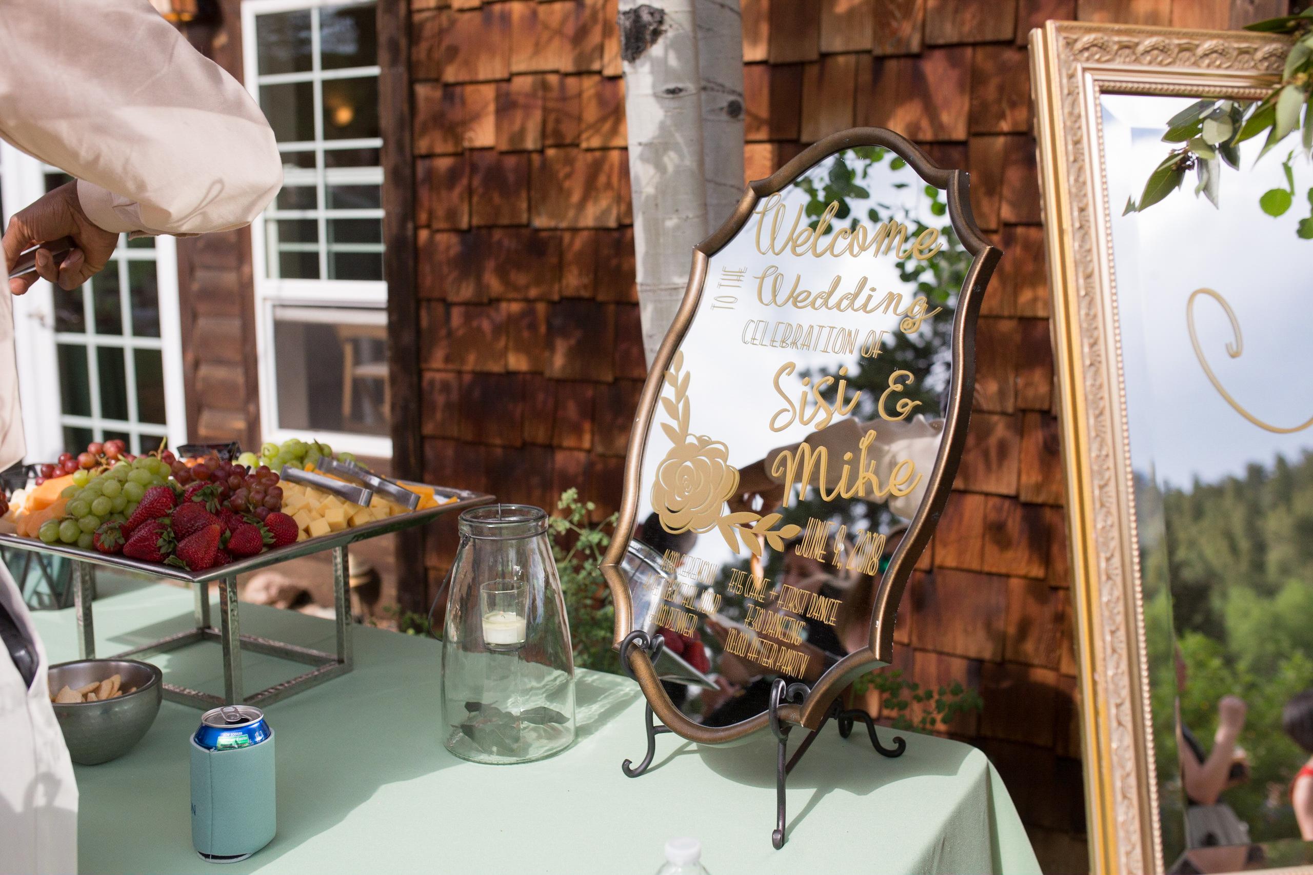 Wedding signs Denver