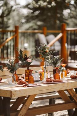 Rustic wedding decor rentals
