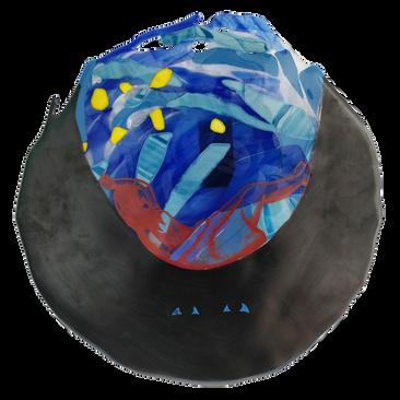 Me-and-mr-Anxiety-One-glass-art-glaskunst-painting-schilderij-evelien-de-bruijn-2.png