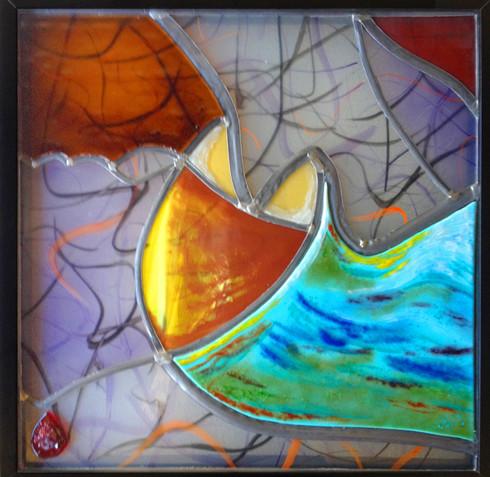 Atelier-de-Lampion-Glas-in-lood-verlijmi