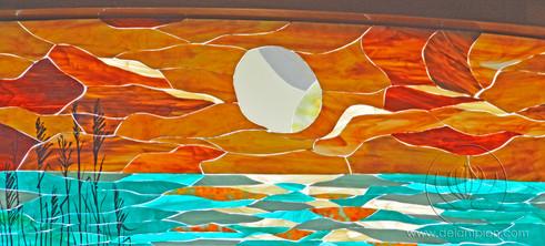 Atelier-de-Lampion-Sunset-Stoppelenburg-