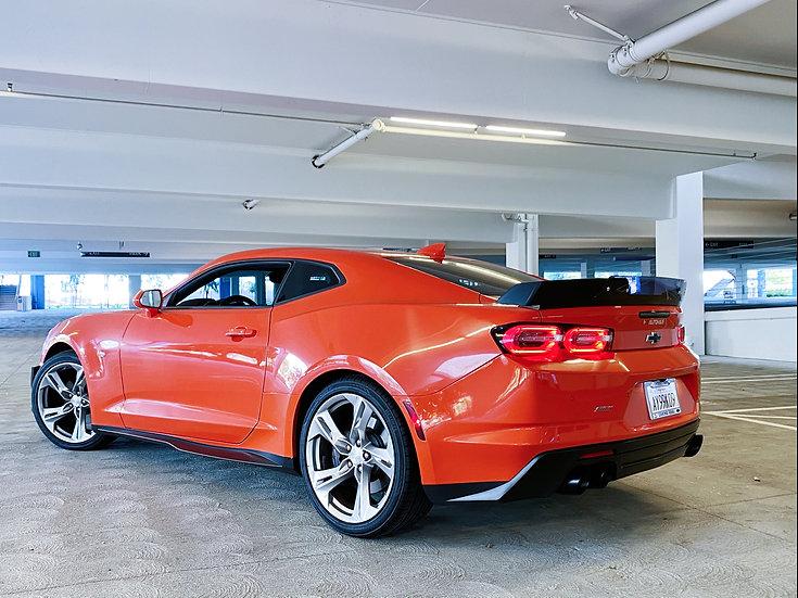 Corvette Inspired Wickerbill Rear Trunk Spoiler (16-20 all)