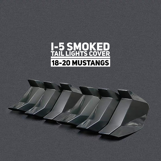 I-5 Smoked Tail Light Covers (18-20 All)