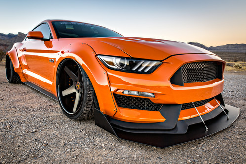 stage 3 performance i 5 performance wide body kit for 15 17 ford mustang i 5 autohaus. Black Bedroom Furniture Sets. Home Design Ideas