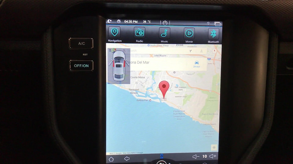 I-5 TECH Intelligence Navi and Touch Screen for 2015-2017 Ford Mustang