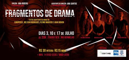 """Peça de Teatro """"Fragmentos de Drama"""" - 2015"""