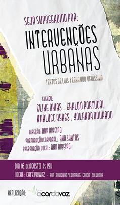 Intervenções Urbanas I - Café Primaz - 15 de agosto de 2014